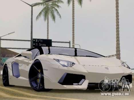 Lamborghini Aventador LP700-4 Vossen für GTA San Andreas