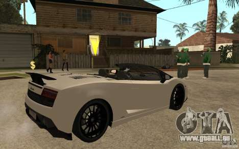 Lamborghini Gallardo LP570-4 pour GTA San Andreas vue de droite