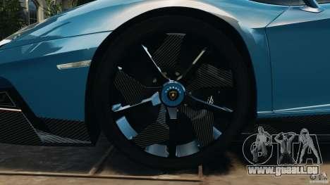Lamborghini Aventador J 2012 v1.2 für GTA 4 Seitenansicht