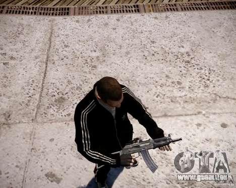 AKS-74U pour GTA 4 sixième écran