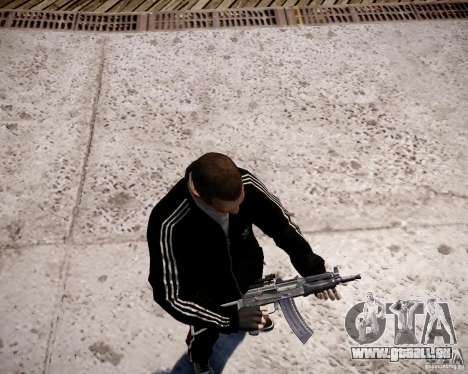 AKS-74U für GTA 4 sechsten Screenshot