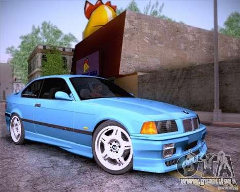 BMW M3 E36 1995 pour GTA San Andreas vue de côté