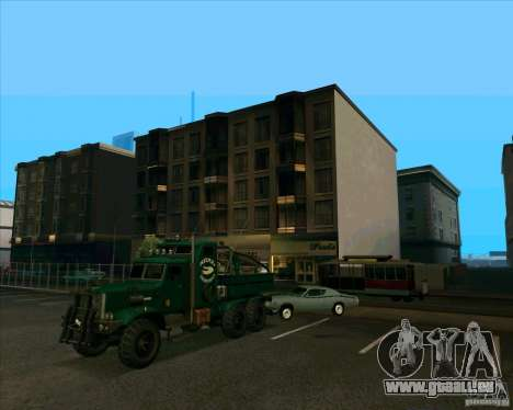 KrAZy Crocodile pour GTA San Andreas vue de droite