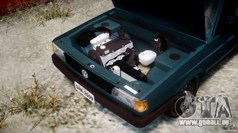 Volkswagen Gol GL pour GTA 4 Vue arrière