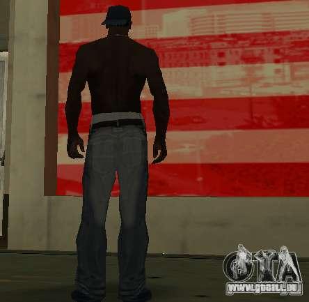 Nouveaux jeans pour CJ pour GTA San Andreas quatrième écran