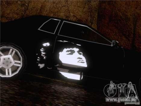 Vinyl Wiktor Zoi für GTA San Andreas rechten Ansicht