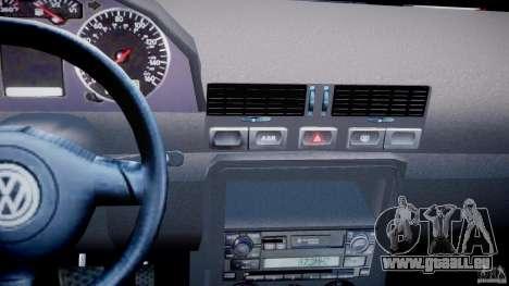 Volkswagen Bora für GTA 4 obere Ansicht