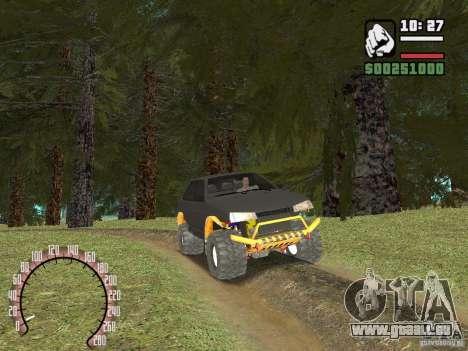 VAZ 21099 4 x 4 pour GTA San Andreas