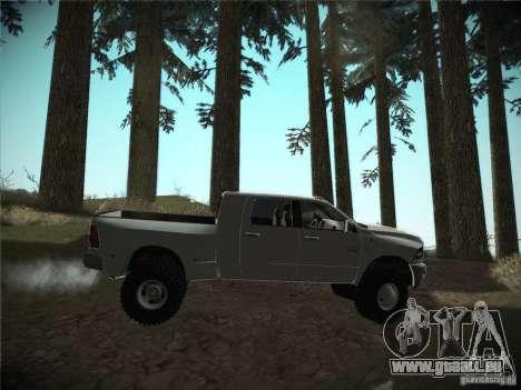 Dodge Ram 3500 4X4 pour GTA San Andreas vue de droite