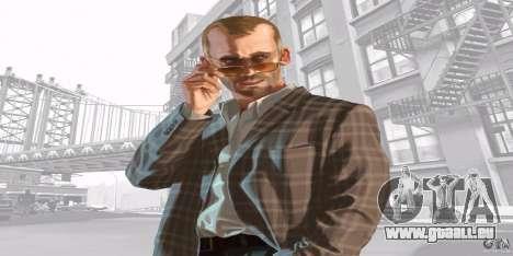 Écrans de démarrage de GTA IV v. 2.0 pour GTA San Andreas troisième écran