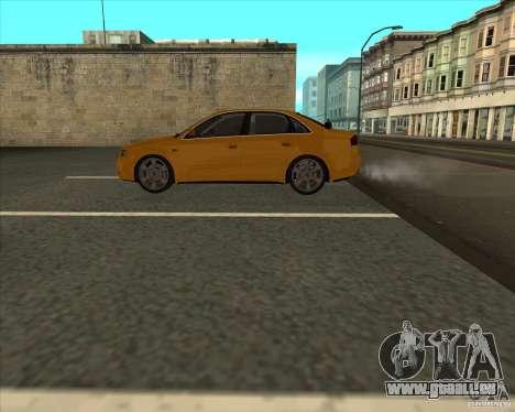AUDI S4 Sport pour GTA San Andreas vue arrière