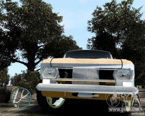 Moskvič 412 Street Racer [Alpha] für GTA 4 Rückansicht