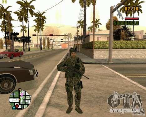 Nouveaux soldats pour GTA San Andreas deuxième écran