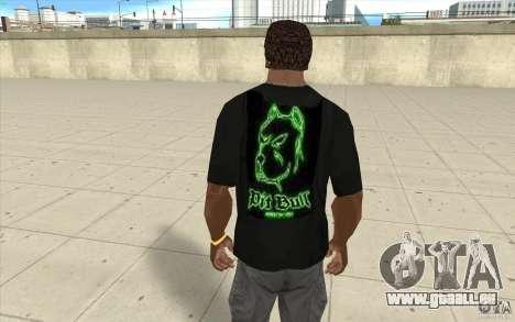 Grube bill T-shirt für GTA San Andreas zweiten Screenshot