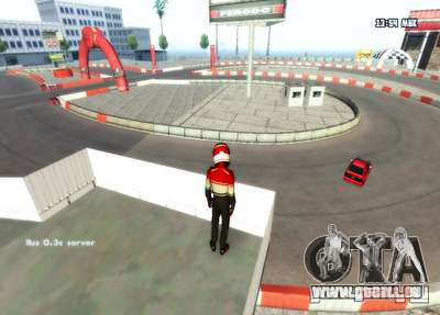 London-Drift für GTA San Andreas her Screenshot