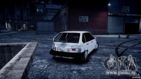 VAZ 2109 für GTA 4 Innenansicht