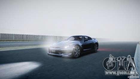 Nissan GT-R R35 V1.2 2010 pour GTA 4 est une gauche