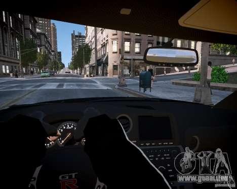 Nissan Spec GT-R Enforcer pour GTA 4 Vue arrière