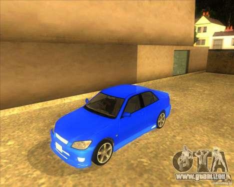 Toyota Altezza RS200 1998 pour GTA San Andreas