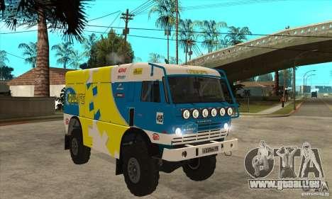 KAMAZ 4911 Rally MASTER für GTA San Andreas Seitenansicht