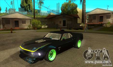 Ford Mustang RTR-X 1969 pour GTA San Andreas