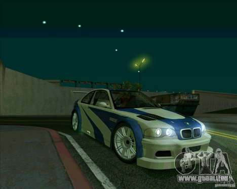 BMW M3 GTR Final für GTA San Andreas