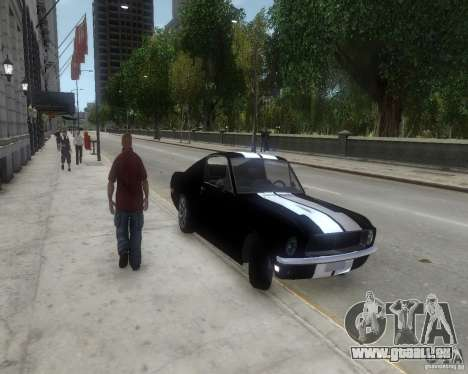 Ford Mustang Tokyo Drift pour GTA 4 est une gauche