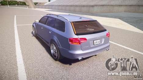 Audi A6 Allroad Quattro 2007 wheel 1 pour GTA 4 Vue arrière de la gauche