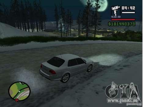 Winter Mod für GTA San Andreas dritten Screenshot