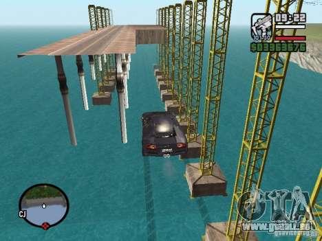Reisen Sie über den Ozean (Beta-Version) für GTA San Andreas
