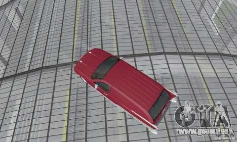 Chevrolet Caprice Majestic Nomad Custom 1992 für GTA San Andreas zurück linke Ansicht