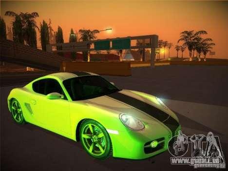 Porsche Cayman S Snow für GTA San Andreas