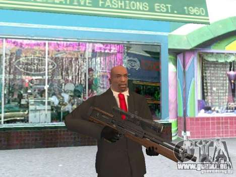 WALTHER 2000 HD pour GTA San Andreas