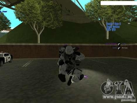 Winter Special für GTA San Andreas dritten Screenshot