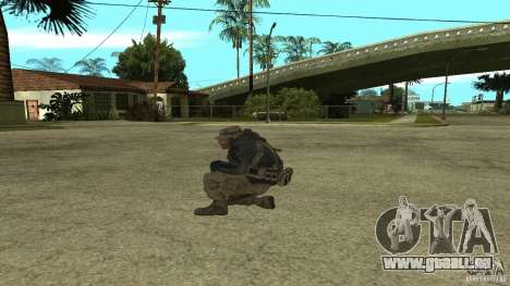 Captain Price für GTA San Andreas zweiten Screenshot
