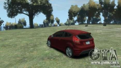 Ford Fiesta pour GTA 4 est une gauche