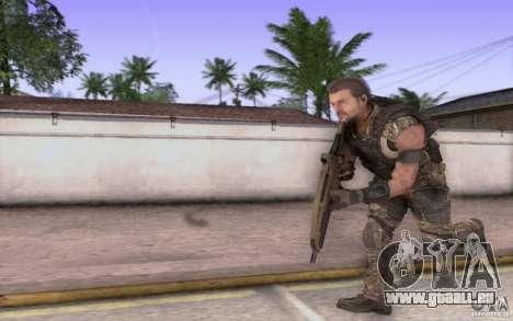 HK XM8 eotech pour GTA San Andreas quatrième écran