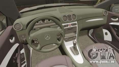 Mercedes-Benz CLK 55 AMG Stock pour GTA 4 vue de dessus