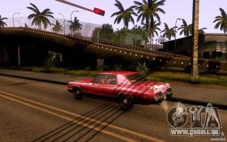 Dodge Monaco pour GTA San Andreas laissé vue