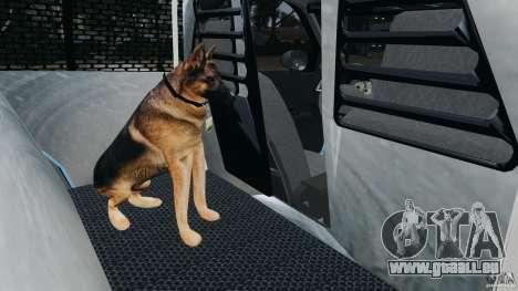 Ford Crown Victoria Police Unit [ELS] pour GTA 4 vue de dessus