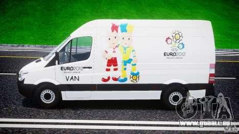 Mercedes-Benz Sprinter Euro 2012 für GTA 4 Innenansicht
