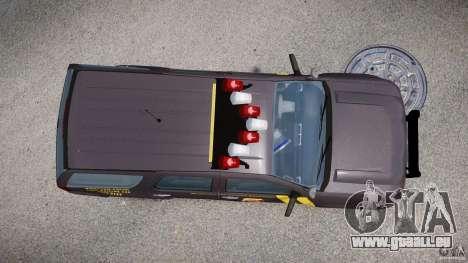 Chevrolet Tahoe Indonesia Police pour GTA 4 est un droit