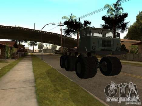 GAZ 66 Saiga für GTA San Andreas linke Ansicht