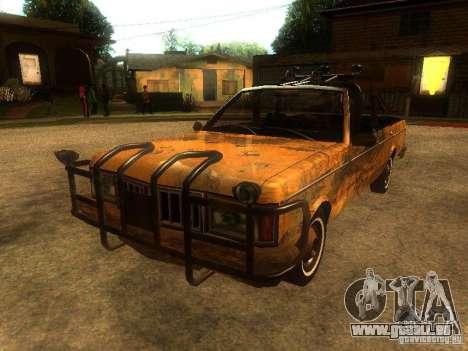 Regina War pour GTA San Andreas sur la vue arrière gauche
