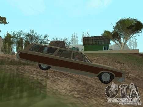 Chrysler Town and Country 1967 pour GTA San Andreas laissé vue