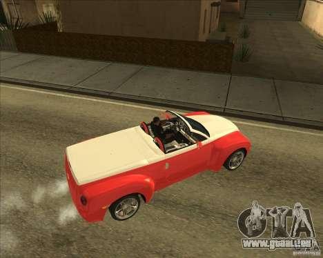 Chevrolet SSR pour GTA San Andreas vue de droite