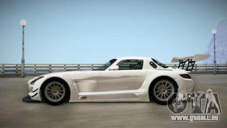Mercedes-Benz SLS AMG GT3 für GTA San Andreas zurück linke Ansicht