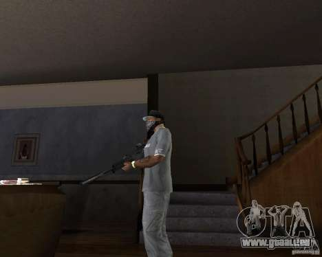 G37 automatique pour GTA San Andreas deuxième écran