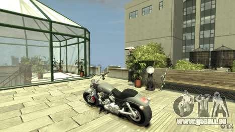 Harley Davidson V-Rod (ver. 0.1 beta) HQ pour GTA 4 Vue arrière de la gauche