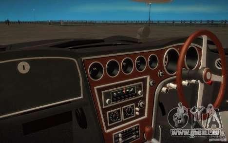 Toyota 2000GT 1969 für GTA San Andreas Rückansicht